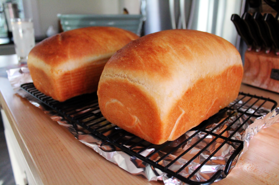 Delicious Baked White Bread
