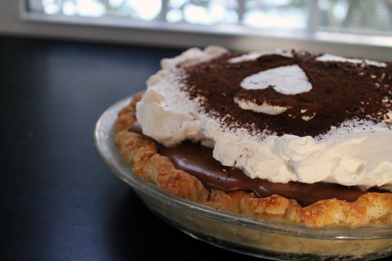 French Silk Pie, New Angle